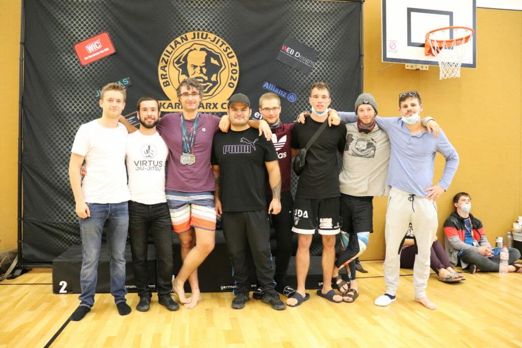 Team Virtus Jiu-Jitsu auf dem Karl-Marx Cup